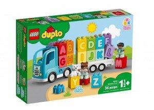 LEGO Klocki DUPLO 10915 Ciężarówka z alfabetem