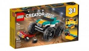 Klocki Creator Monster truck