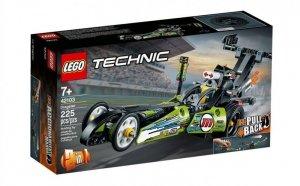 LEGO Klocki Technic 42103 Dragster