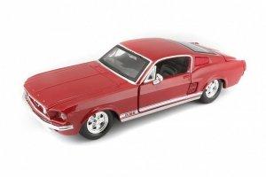 Maisto Samochód Ford Mustang GT 1967 czerwony 1/24