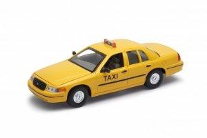 Welly Model kolekcjonerski 1999 Ford Crown Victoria Taxi