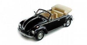 Welly Model kolekcjonerski Volkswagen Beetle Convertible czarny