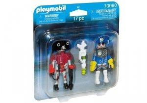 Playmobil Figurka Duo Pack Galaktyczny policjant i złodziej