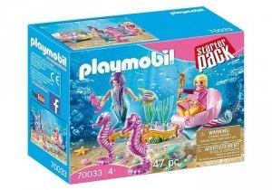 Playmobil Zestaw figurek Starter Pack Karoca z konikami wodnymi