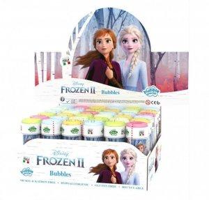 Brimarex Bańki mydlane Frozen 2 60ml display 36 sztuk