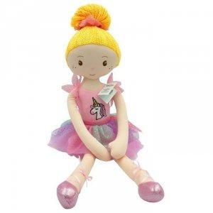 Lalka Luiza sukienka jednorożec 70 cm