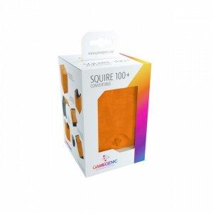 Ekskluzywne pudełko na 100+ kart Pomarańczowy