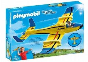 Playmobil Zestaw Szybowiec - samolot wodny + figurka