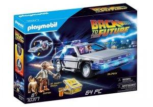 Playmobil Zestaw figurek Powrót do przyszłości DeLorean 70317