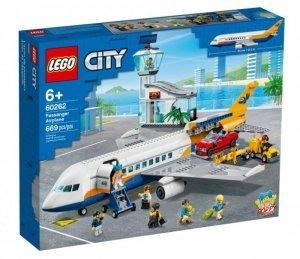LEGO Klocki City 60262 Samolot pasażerski