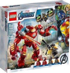 LEGO Klocki Super Heroes Hulkbuster Iron Mana kontra agenci A.I.M.