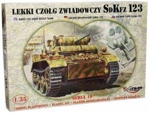 Mirage Model do sklejania Lekki czołg zwiadowczy SDKFZ 123
