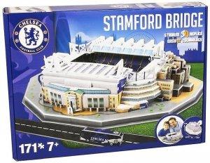 Symag Puzzle 3D Stadion Stamford Bridge 171 elementów