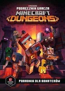 Egmont Podręcznik gracza Minecraft Dungeons. Poradnik dla bohaterów.
