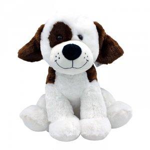 Axiom Maskotka Pies Rafał biały z łatką 40 cm