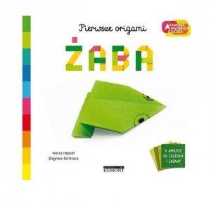 Egmont Książeczka  Akademia mądrego dziecka. Pierwsze origami. Żaba