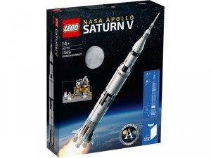 Klocki Ideas Rakieta NASA Apollo Saturn V