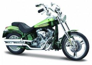 Maisto Motocykl HD 2004 FXSTDSE CVO 1/18 Zielony