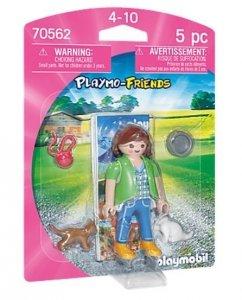 Playmobil Figurka 70562 Dziewczynka z kotkami