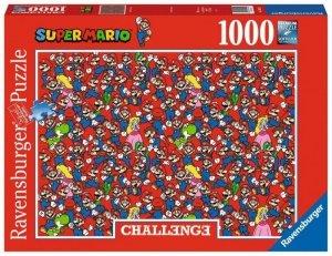 Ravensburger Polska Puzzle 1000 elementów Challange, Super Mario Bros