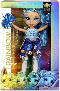Mga Lalka Rainbow High Cheer Doll, Skyler Bradshaw Niebieska