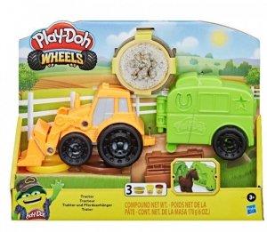 Hasbro Ciastolina PlayDoh Wheels Traktor