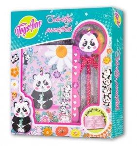 Stnux Pamiętnik na szyfr panda
