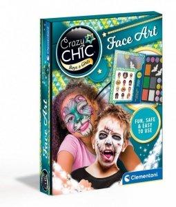 Clementoni Zestaw do malowania twarzy Crazy Chic