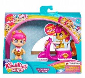 Tm Toys Pojazd z laleczką Kindi Kids Mini Skuter Lippy Lulu