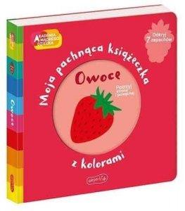Harper Collins Książeczka pachnąca Akdemia Mądrego Dziecka Owoce