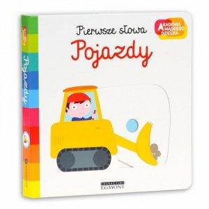 Harper Collins Książeczka Pierwsze słowa Akademia Mądrego Dziecka  Pojazdy