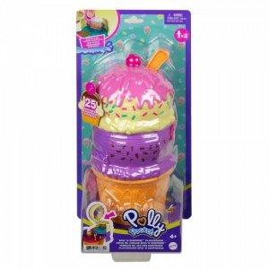Mattel Zestaw figurek Polly Pocket  Zakręcone niespodzianki aquapark