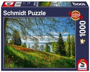 Schmidt Puzzle 1000 elementów Wyspa kwitnących tulipanów