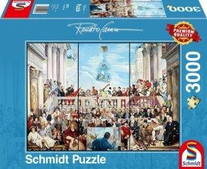 Schmidt Puzzle 3000 elementów Reato Casaro Tak przechodzi się do historii