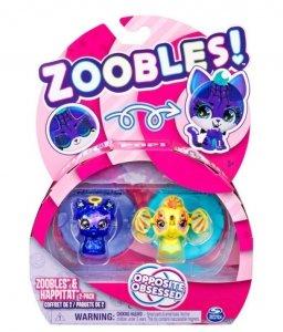 Spin Master Figurki Zoobles Ziwerzątka 2pak Lima/Elephant