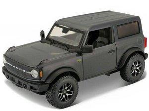 Maisto Model kompozytowy Ford 2021 Bronco Badlands szary 1:24