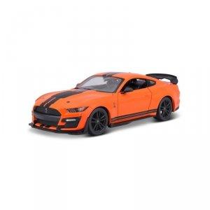 Maisto Model kompozytowy 2020 Mustang Shelby GT500 pomarańczowy 1:24