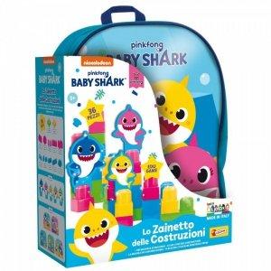 Lisciani Plecak z klockami Baby Shark