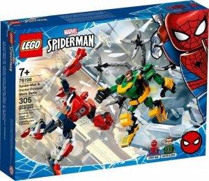 LEGO Klocki Super Heroes 76198 Bitwa mechów Spider-Mana i Doktora Octopusa