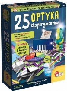 Lisciani Optyka - 25 eksperymentów Mały Geniusz