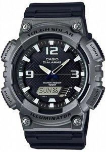 Zegarek Męski CASIO AQ - S810W-1A4 10 Bar SOLAR Do pływania