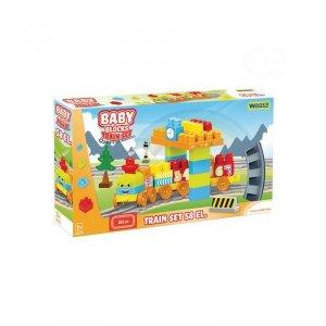 BABY BLOCKS RAILWAY 58 EL.