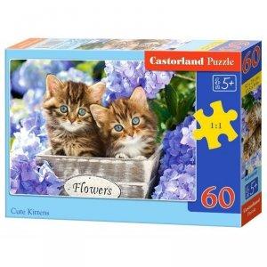 Puzzle 60el. cute kittens