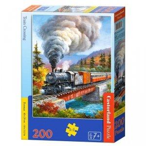 PUZZLE 200 TRAIN CROSSING