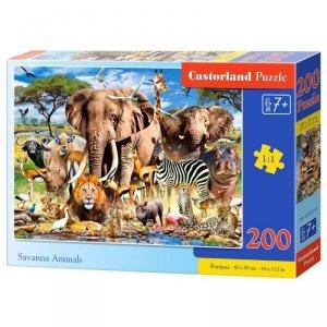 Puzzle 200 savanna animals