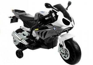 Motocykl Motor na akumulator BMW S1000RR Srebrny