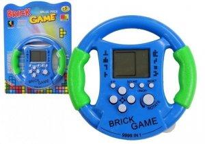 Gra Elektroniczna Bricks Kierownica Niebieska