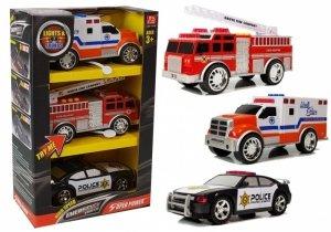 Zestaw Aut Służby Specjalne Straż Pożarna Policja