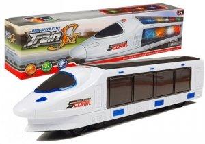 Pociąg na Baterie ze Światłami Dźwięki Pendolino