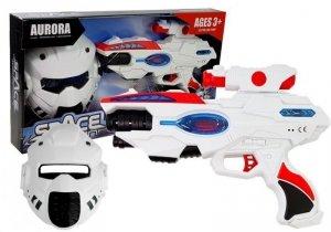 Kosmiczny Pistolet Laserowy z Maską Space
